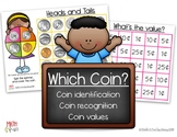Spin and Cover -  Coin Recognition, Coin Values, and Count