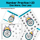 Spring Math Center Activities: Counting 1-20 Lesson - Bee Buzz & Spin!
