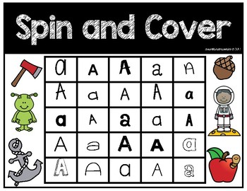 Spin and Cover Letters