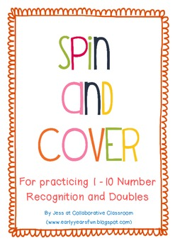 Spin and Cover Number Games - 1 - 10 and Doubles