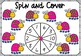 Spin and Cover Numbers 1-10