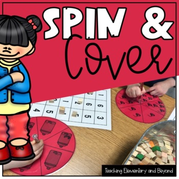 Spin and Cover {Numbers 1 - 6}