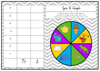 Spin and Graph Alphabet Cards
