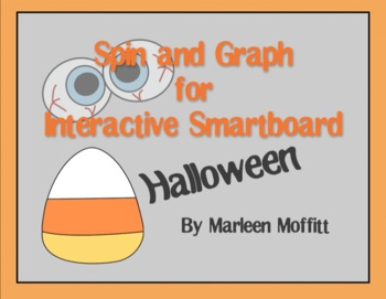 Spin and Graph Halloween  for Interactive Smartboard (Notebook 11)