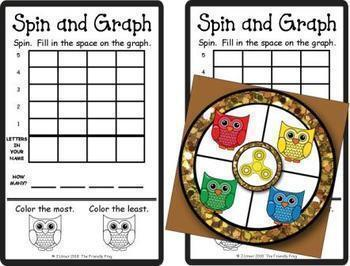 Spin and Graph Name Practice Bundle