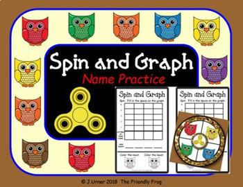 Spin and Graph Name Practice Owls