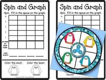 Spin and Graph Name Practice Penguins