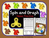 Spin and Graph Name Practice Squirrels