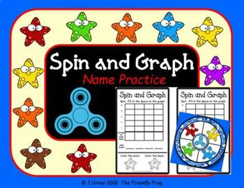 Spin and Graph Name Practice Starfish