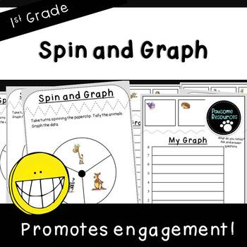 Spin and Graph-Student Mats (First Grade, 1.MD.4)