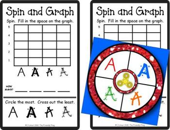 Spin and Graph Upper-case Letter Fonts