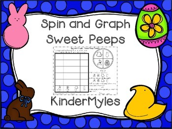 Spin and Graph a Sweet Peep {Freebie}