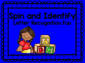 Spin and Identify- Letter Recognition