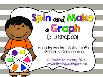 Spin and Make a Graph - 3D Shapes