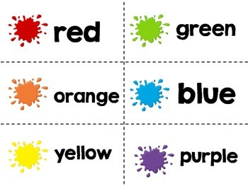 Spin and Make a Graph - Colors