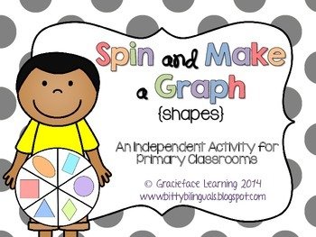 Spin and Make a Graph - Shapes
