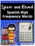 Spin and Read Spanish High Frequency Words