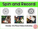 Spin and Record Teen Numbers to Build Place Value Understanding