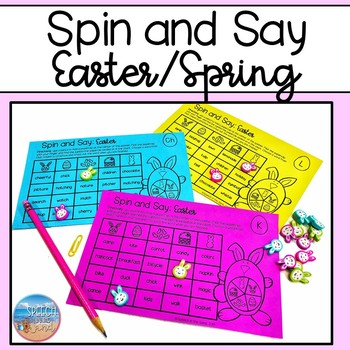Spin and Say: Easter/Spring