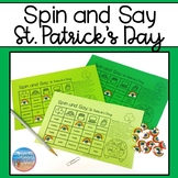 Spin and Say: St. Patrick's Day