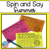 Spin and Say: Summer