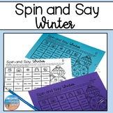 Spin and Say: Winter