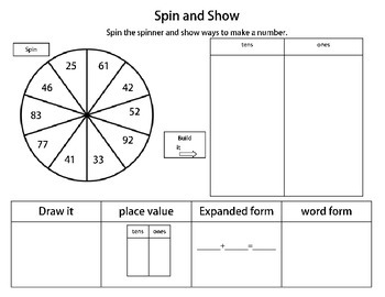 Spin and Show