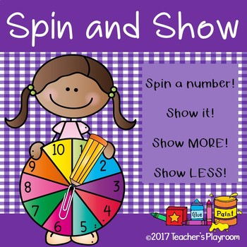 Comparing Numbers Spin and Show Math Center