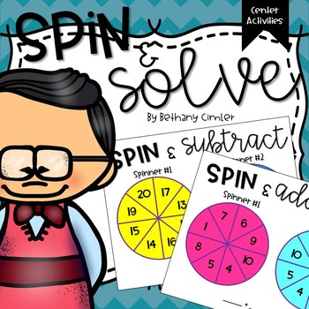 Spin and Solve | Math Activity