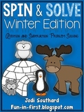 Spin and Solve Math Problem Solving {Winter Edition}