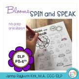 Spin and Speak™: Bloom Articulation: Spring No Prep