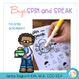 Spin and Speak™: Bugs Articulation