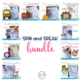 Spin and Speak™ Bundle: No Prep Articulation Worksheets