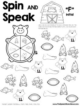 Spin and Speak: Farm for Articulation