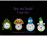 Spin and Speak! Final /sh/ Year Round