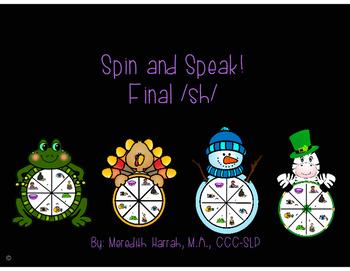Spin and Speak! Final /sh/ Year Round