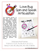 Spin and Speak™: Love Bugs for Valentine's Day