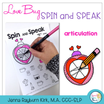 Spin and Speak: Love Bugs for Valentine's Day
