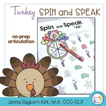 Spin and Speak: Turkeys for Articulation
