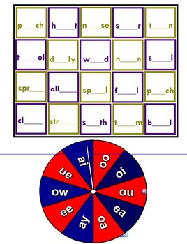Spin and Spell Phonics