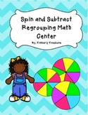 Spin and Subtract Pack: 2 Digit - 3 Digit Regrouping