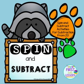 Spin and Subtract Activities to 20
