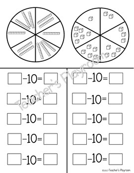 Spin and Subtract Tens