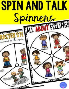Spin and Talk Spinners