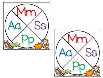 Spin and Win: Beginning Sounds