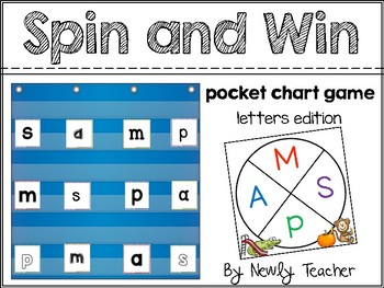 Spin and Win: Letter Matching