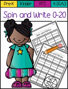 Spin and Write 0-20