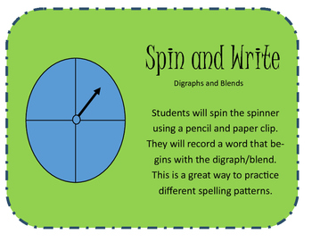 Spin and Write