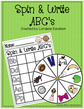 Spin and Write ABCs