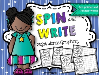 Spin and Write: Graphing Sight Words for the WHOLE YEAR!